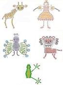 Схемы игрушек из бисера, бусин, кристаллов, страз.