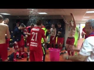Празднование Енисея(vk.com/russia.soccer)