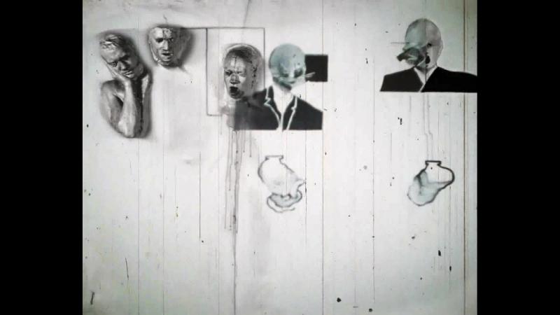 Six Figures Getting Sick by David Lynch