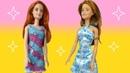 Обзор. Кукла Барби Цветочная. Кукла Барби Супер стиль