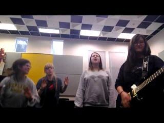 Stuck On You- New Politics cover... with goofy friends