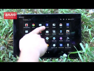 Видео-обзор планшета Sony Xperia Tablet Z