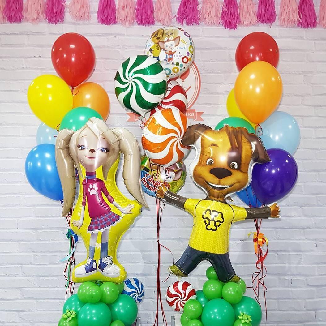 Воздушные шары в Омске