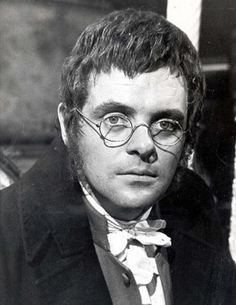 Фото Энтони Хопкинса в роли Пьера Безухова, 1972 год.