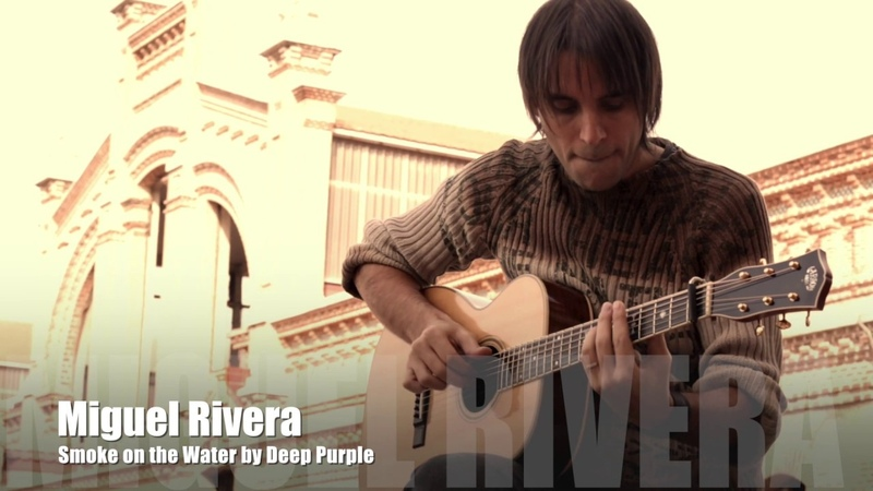 Smoke on the Water | Deep Purple | Miguel Rivera Acoustic Guitar Arrangement