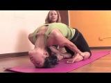 Ashtanga Yoga: Strong legs and healthy backbends in Thunderbolt pose or Laghuvajrasana  | vk.com/yogadn