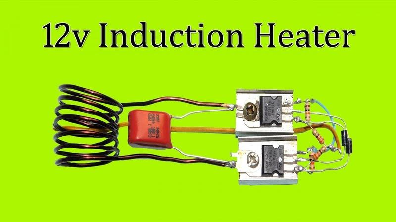Induction heater 12v Dc