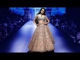 Kangana Ranaut Walks For Anushree Reddy SpringSummer 2018 Lakme Fashion Week