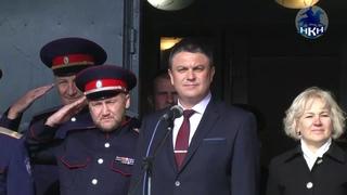 НКН. 140 воспитанников алчевского казачьего корпуса приняли присягу