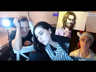Ларин и Ксения о Хесусе / Larin and Ксюша об JesusAVGN / Джесус