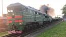 Депо Сортавала Небольшое видео о локомотивах к вашему вниманию в кадре есть и дым и пар