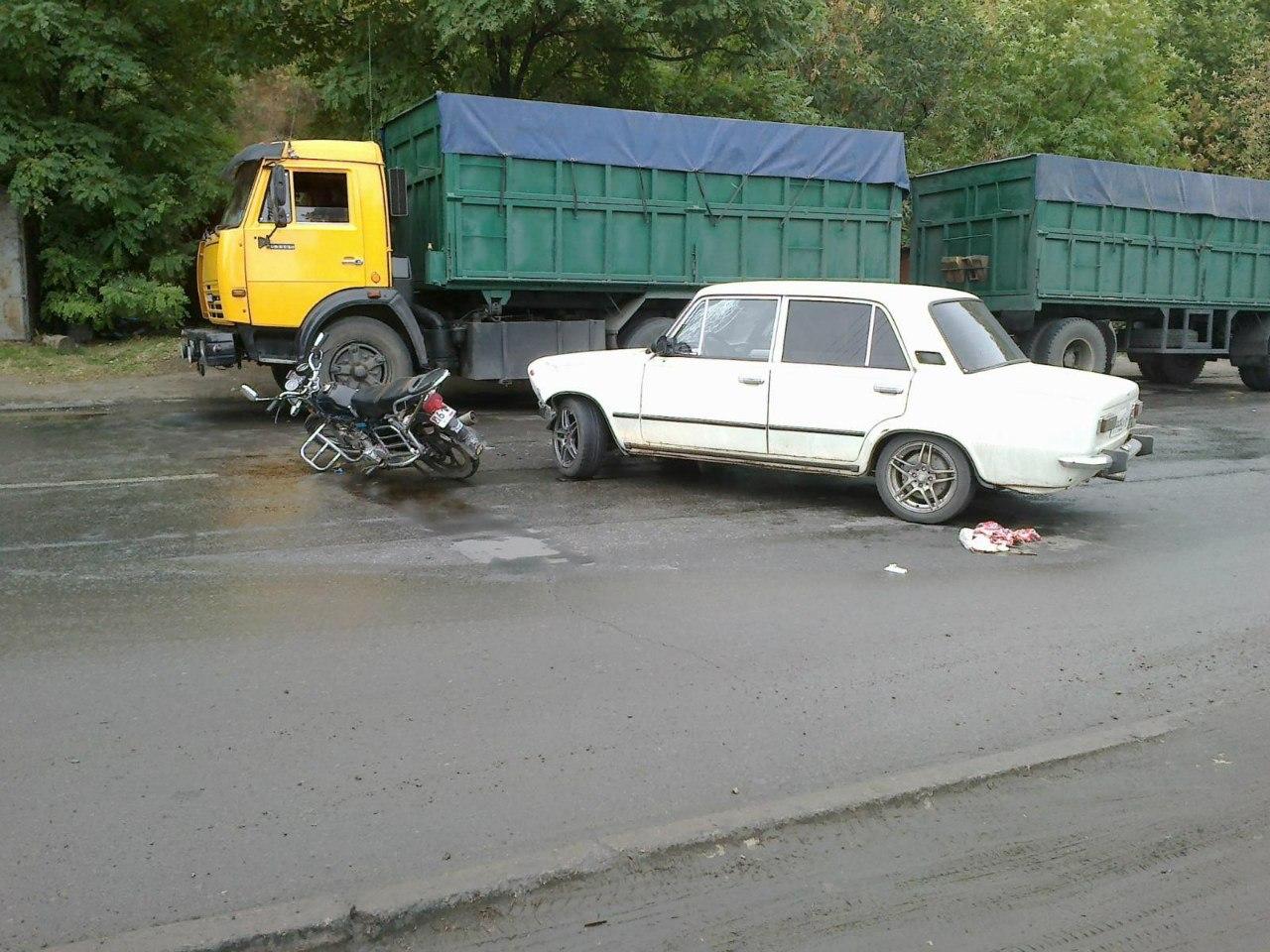 ДТП в Таганроге с участием скутера