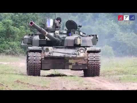 กองทัพบกทดสอบรถถังหลัก T-84 OPLOT ชุดสุดท้าย ณ บ้านภักดีแผ่นดิน จ.สระแก้ว
