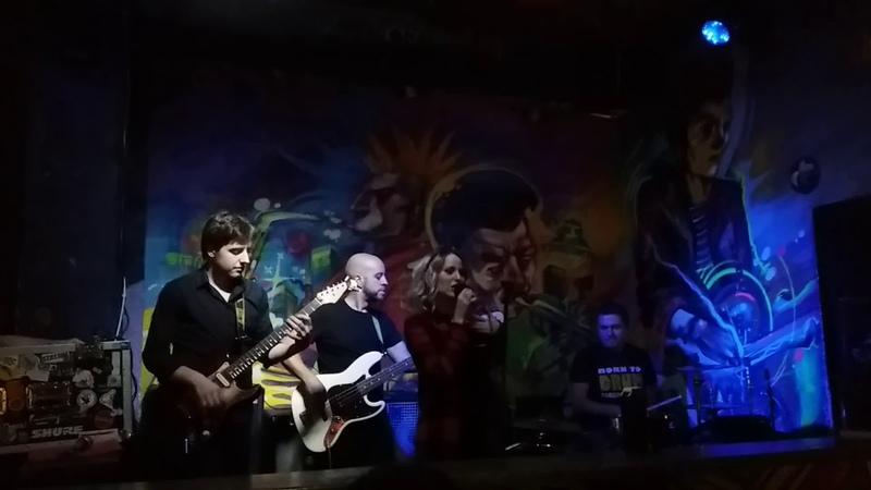 PAULINN| ДАЙ ПАСЛУХАЦЬ| 11.10.2018 бар Графіці