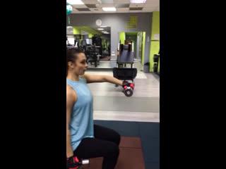 Персональная тренировка от Лилии Бобровой
