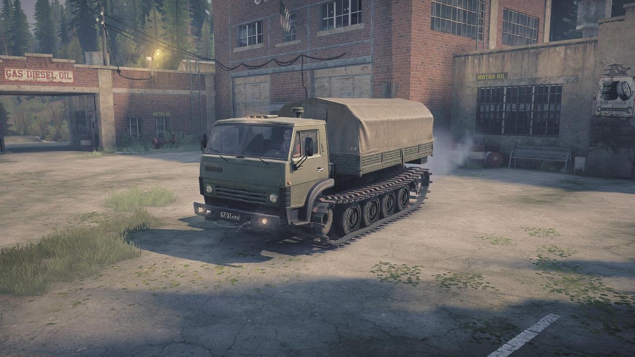 КамАЗ-4310 Гусеничный