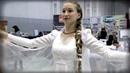 Красивый танец Белая Лебедия под гусли - Ярослава Горячева и Кирилл Богомилов