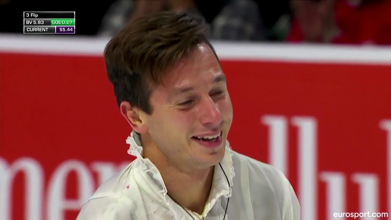 Alexei BYCHENKO FS GP Skate America 2018