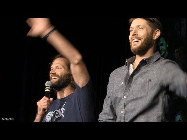 DallasCon 2019 Jensen Ackles and Jared Padalecki FULL Main Panel Supernatural