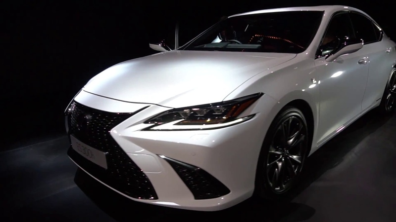 New Lexus ES 2019 reveal 360 spin interior details