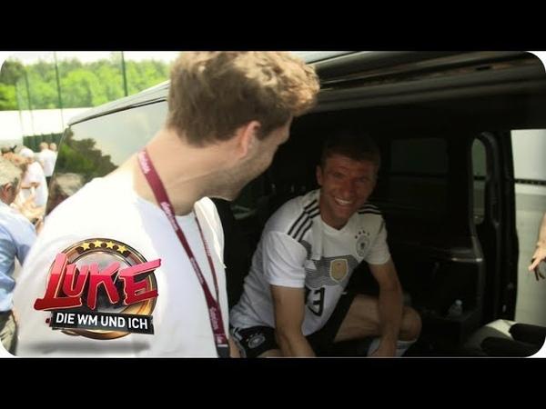 Besuch beim DFB Team Luke crasht das WM Trainingslager LUKE Die WM und ich