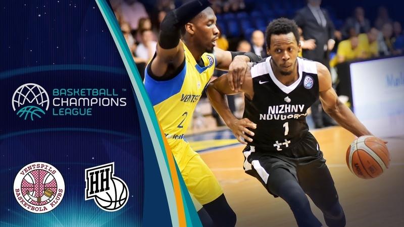 Ventspils v Nizhny Novgorod - Highlights - Basketball Champions League 2018-19