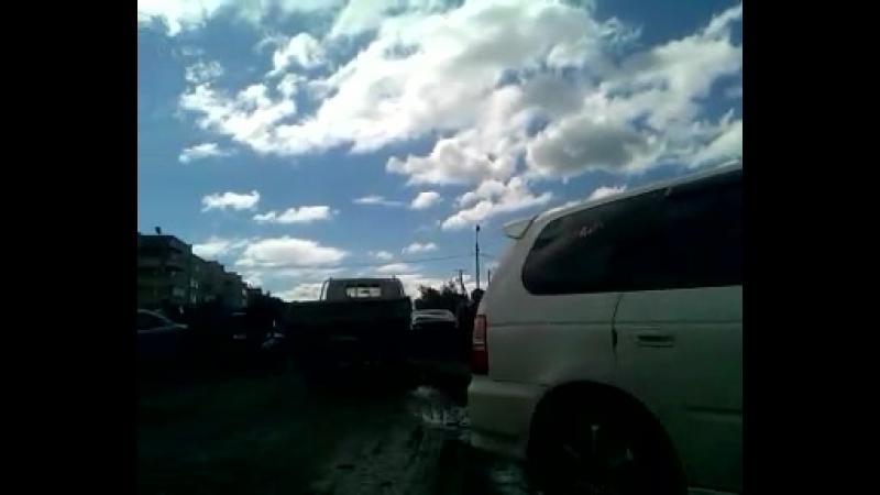 Проход от Авиаторов 2,Абакан к дороге по Торосова ,затор.