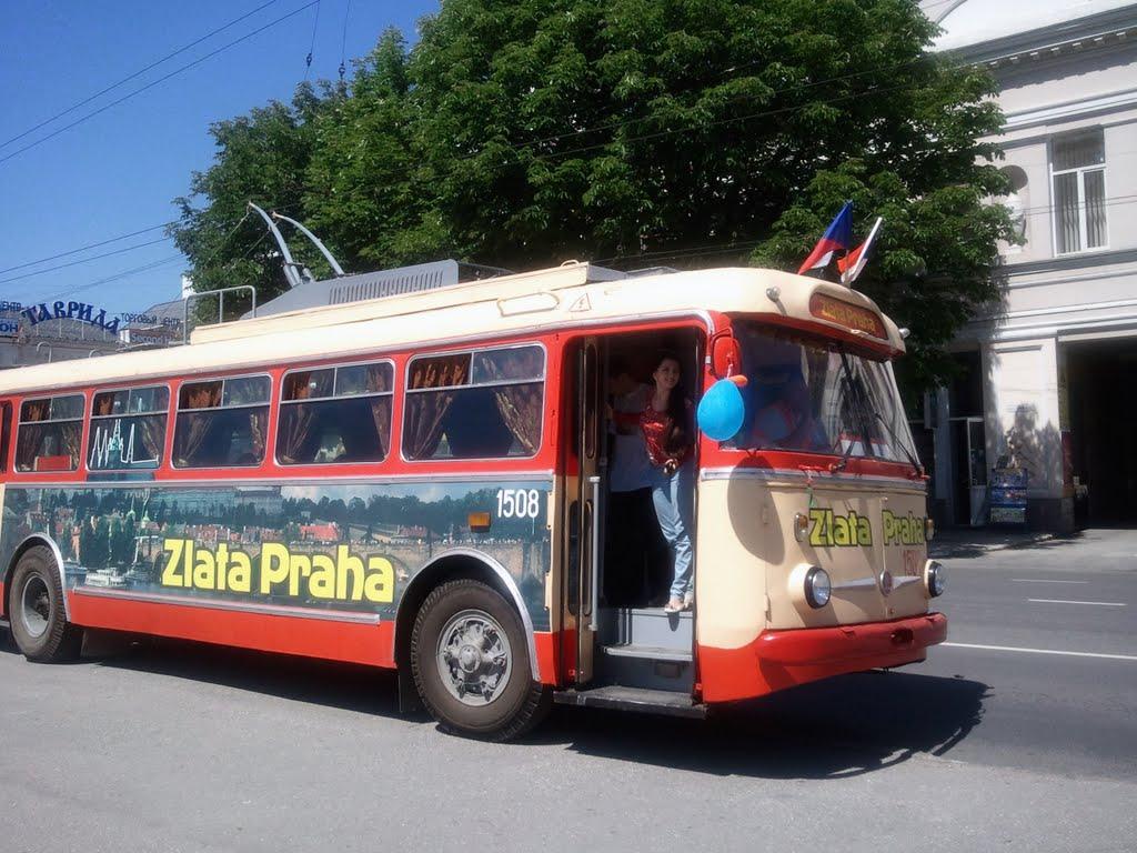 Экскурсионный троллейбус