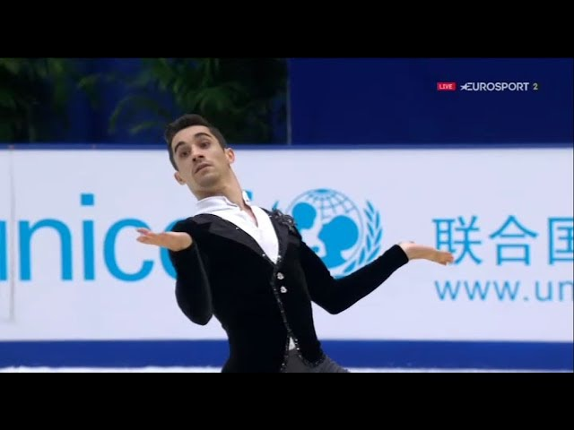 03.11.2017 Javier FERNANDEZ 90.57 SP - 2017 Cup of China B.ESP.