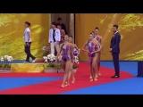 ЧМ 2018. Художественная гимнастика. Групповое многоборье. Группа А