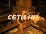 Взрыв на чердаке стал причиной потопа и обрушения потолков в жилом доме