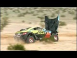 *Slow Motion* Rally Fighter Flips End-Over-End, Keeps On Racing