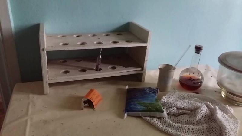 1 пос.Калиново развалили очистные сооружения