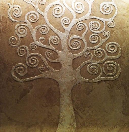 Рельефное дерево своими руками