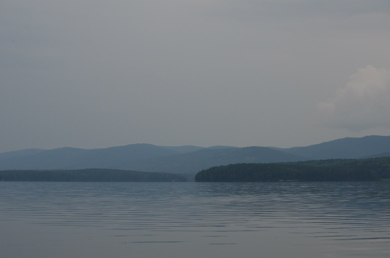 дымка над озером (06.11.2014)