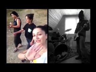 Кавер на песню трех грузинских девушек из группы trio mandili