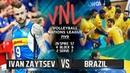Ivan Zaytsev vs Brazil | Volleyball Nations League 2018 (HD)