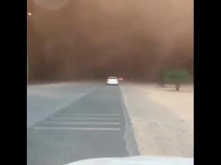 Sandstorm,Saudi Arabia.