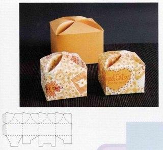 Схемы коробочек для упаковки подарков.