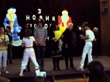 Ведение Новогоднего праздника детской командой КВН Награждение руководителей кружков