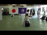 平成26年養神館鏡開き 乗木先生の演武 2014Yoshinkan Kagamibiraki Noriki Sensei Demo
