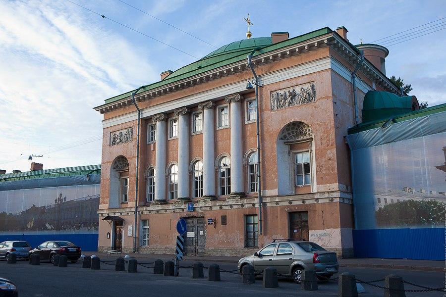 Сантк-Петербург экскурсия Конюшенная площадь