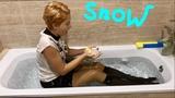 WETLOOK SCHOOL OUTFIT COLD BATH WITH ICE В ШКОЛЬНОЙ ФОРМЕ ВАННА СО ЛЬДОМ