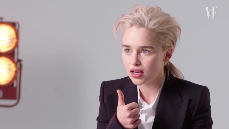 Emilia Clarke Re-Creates Stock Photos ¦ Vanity Fair