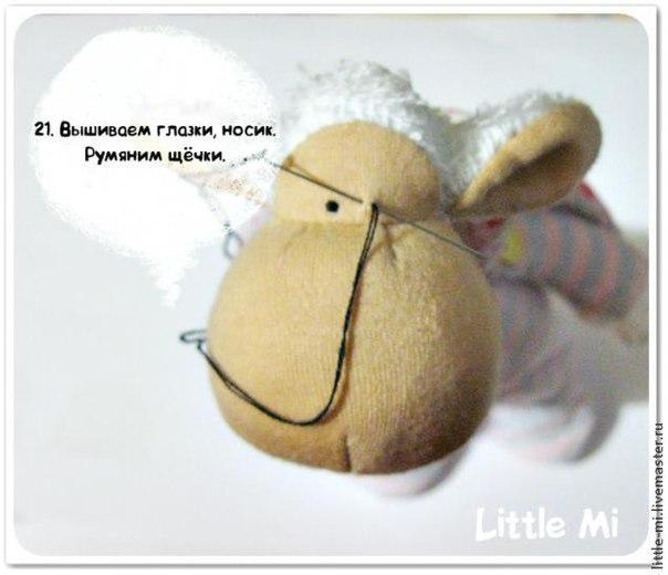 415Как сделать куклу зайчика