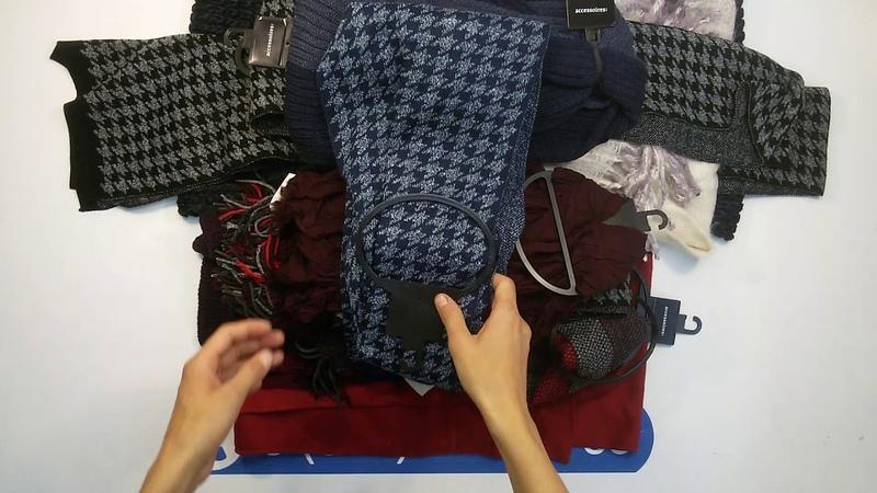 CA W Acсes. (5 kg) - шарфы, перчатки, шапки сток CA