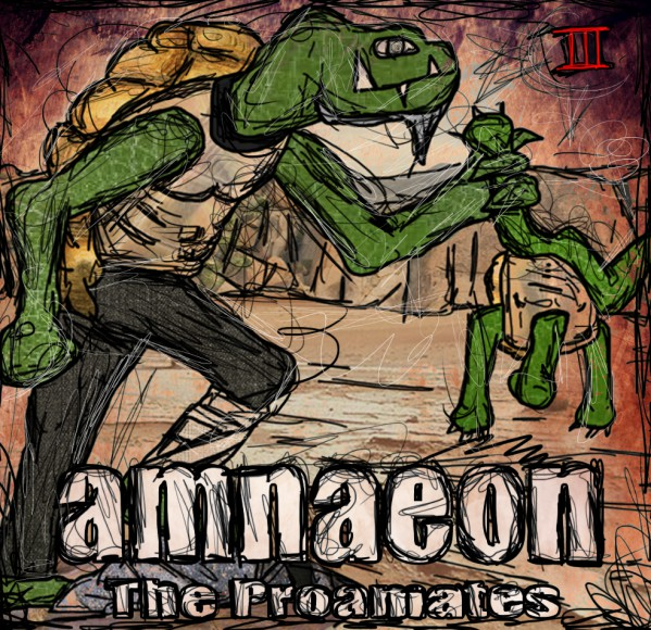 amnaeon - The Proamates III-cover
