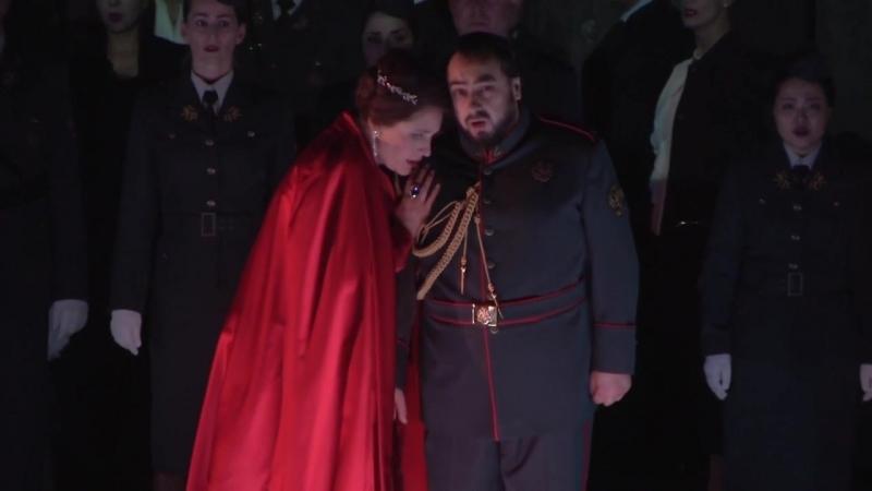 Дж Верди Макбет = спектакль Венской оперы