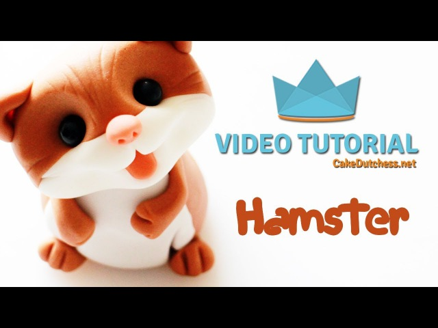 How to create a Hamster Cake Topper - Cake Decorating Tutorial