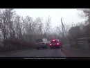 Instant Karma! Crazy russian arrogant and impudent driver of Land Cruiser gets punished